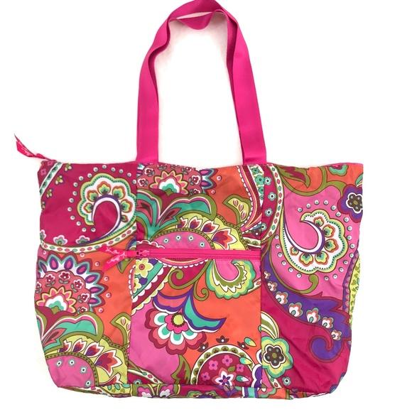 Vera Bradley Handbags - NWOT Vera Bradley Nylon Packable Shopping Tote
